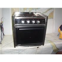 Boaters' Resale Shop of TX 2008 1747.01 PRINCESS ELECTRIC 3 BURNER STOVE & OVEN