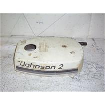 Boaters' Resale Shop of TX 2008 5101.32 JOHNSON 2 HP OUTBOARD MOTOR TOP COWLING