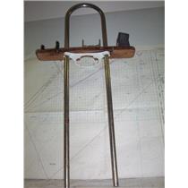 """Boaters' Resale Shop of TX 2009 0525.05 EDSON 9.5"""" x 45"""" PEDESTAL GUARD & MOUNT"""