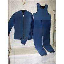 Boaters' Resale Shop of TX 2102 0145.01 SX LARGE NEOPRENE 2 PIECE WET SUIT