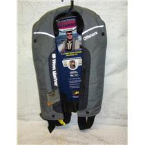 Boaters' Resale Shop of TX 2102 2454.07 WEST MARINE PV1F ADULT INFLATBLE PFD