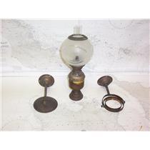 Boaters' Resale Shop of TX 2108 2141.65 VINTAGE MARINE CABIN GIMBALED OIL LAMP