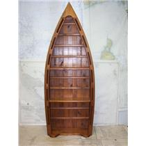 """Boaters' Resale Shop of TX 2109 2525.52 NAUTICAL (BOAT) BOOK CASE 7"""" x 17"""" x 47"""""""
