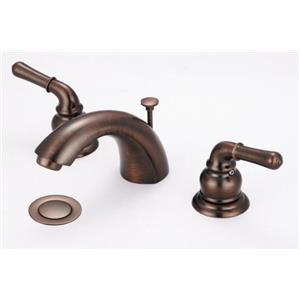 "Olympia Faucets LEAD FREE 4""-16"" WideSpread Bathroom Lavatory Sink Faucet - Oil Rubbed Bronze"