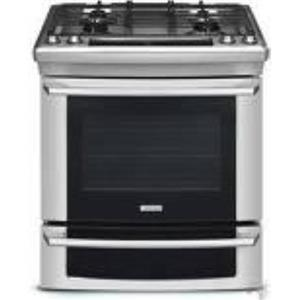 """ELECTROLUX 30"""" SLIDE-IN GAS  RANGE EW30GS65GS STAINLESS"""