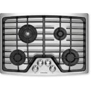 """ELECTROLUX 30""""  GAS COOKTOP EW30GC55GS1 STAINLESS SCUFFS ON KNOBS AND SCRATCHES"""