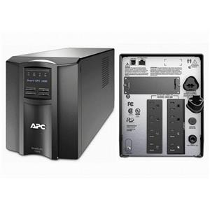 APC SMT1500 Smart-UPS Power Backup, LCD 1500VA 1000W 120V Tower, New Batteries