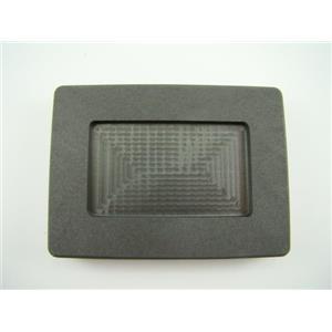 1 oz silver art bar size high density graphite mold