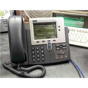 Cisco CP-7940G CP7940G Two Button SCCP VoIP PoE Phone HeadSet