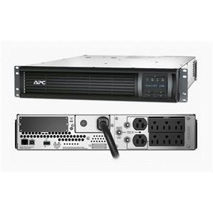 APC SMT2200RM2U Smart-UPS 2200VA 1980W 120V LCD USB Rackmount 2U Backup NOB