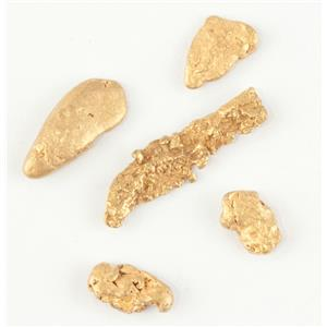 Beautiful 22k Yellow Gold Natural Gold Nugget Lot 1.2g