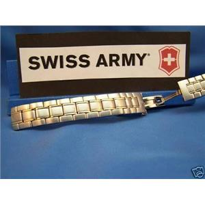 Swiss Army Watch Bracelet Officers LS Ladies Two Tone.