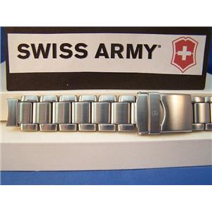 Swiss Army Watch Band Peak Model 24958. All Steel Bracelet
