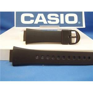 Casio watch band AW-36 Black Resin Strap. Watchband