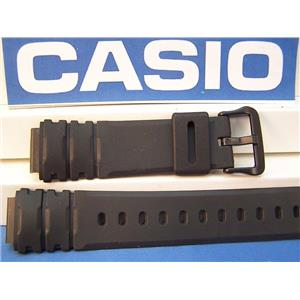 Casio Watch Band AW-41 AW-40  Field Trainer Black Resin Strap