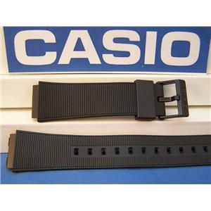 Casio Watch Band AQ-50 Black Resin Strap