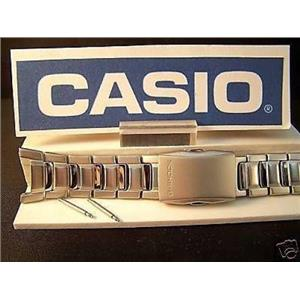 Casio Watch Band G-541, G-542, G-540, G-520 G-Shock Push Button Steel Bracelet