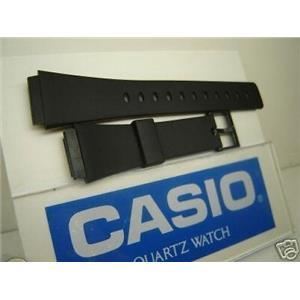 Casio watch band MRW-10 mens black Resin
