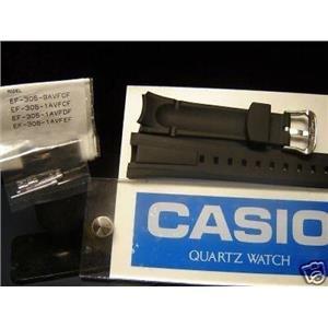 Casio watch band EF-305 w/pins.Alternative For OC-500 Watchband -see description