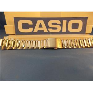 Casio Watch Band AMW-700 D Bracelet. Fishing Gear. All Steel Silver Color