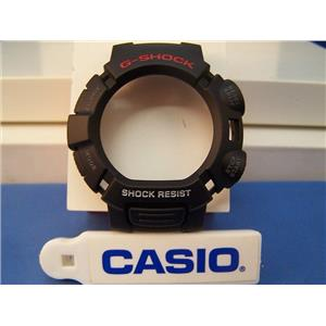 Casio Watch Parts G-9010, GW-9010 Black Bezel / Shell G-Shock Red/white Letters
