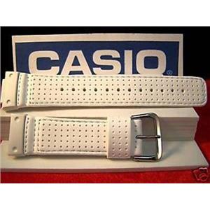 Casio Watch Band DW-56RTB,DW-5600E.White GShock Leather
