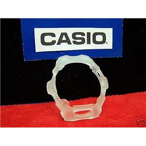 Casio Watch Parts Bg-154 Bezel. Semi See-Through White