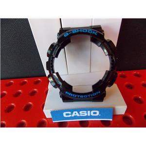 Casio Watch Parts GA-110 HC-1 Shiny black Bezel blue Letter G-Shock Protection