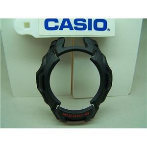 Casio Watch Parts GW-500 Bezel / Shell. Black G-Shock Outer Black Resin Bezel.