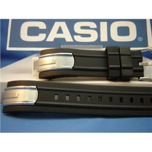 Casio watch band AMW-200 With T-bar Attaching Pins. Original Resin Strap
