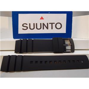 Suunto Watch Band ElementumAqua Black: Resin Strap/buckle w/Spring Bars