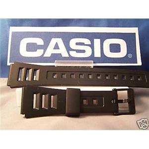 Casio watch band W-71 & W-86 black 19mm Casio Sport Band Fits Most 19mm Watches