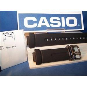 Casio watch band BG-1001 Baby G black Resin ladies