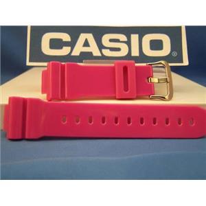 Casio watch band DW-6900 CS-4. Lavender ( Hot Pink) G-shock Strap