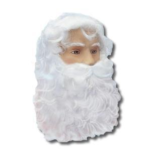 Economy Christmas Santa Claus White Wig and Beard