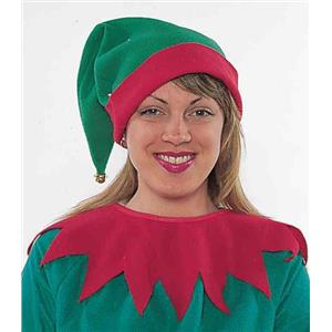 Christmas Santa's Helper Elf Hat and Collar Accessory Kit