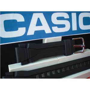 Casio Watch Band AQF-102 Black Resin Strap Steel buckle