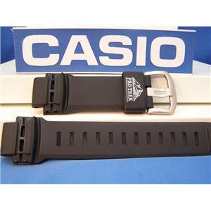 Casio Watch Band PRG-250,PRG-510,PRW-250,PRW-2500,PRW-5100.Pro Trek black Rubber