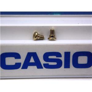 Casio Watch Parts GW-225 Bezel Screws. 7/11 Position. Gold Tone, One Pair