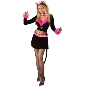 Purrr-fect Fun Sexy Kitty Cat Adult Costume Size 2-8