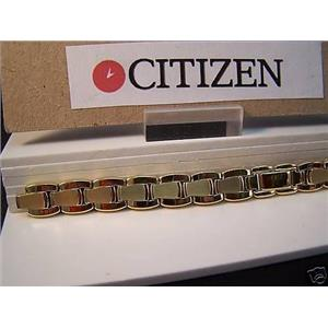 Citizen Watch Band EJ3132, EJ3302 ladies gold tone Bracelet