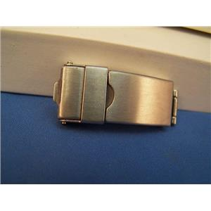 Watch Bracelet TriFold buckle. 12mm End Link Attach and 7mm Center Link Attach