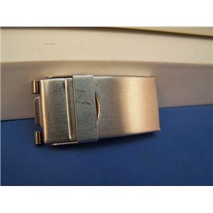 Watch Bracelet TriFold buckle. 16mm End Link Attach and 10mm Center Link Attach