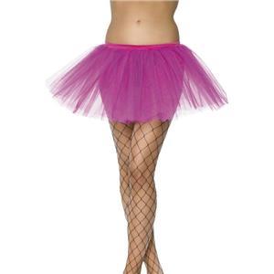Smiffy's Women's Hot Pink Tutu Underskirt