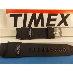 Timex Watch Band Fitness Monitor Digital Transmission Black Rub Strap - Last One