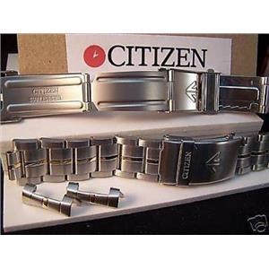 Citizen Watch Band Promaster Bracelet 2 Tn 20mm Wide w/Push Button Length Extend