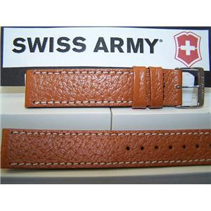 Swiss Army Watch Band Delta 18mm Tan Leather