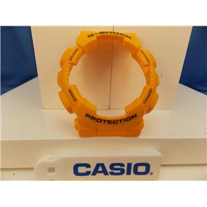 Casio Watch Parts GA-100 A-9 Shiny Mustard Yellow Bezel/Shell Black G-Shock