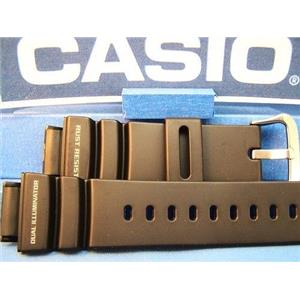 Casio Watch Band G-9100 Black Resin Steel buckle