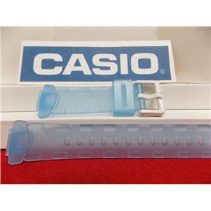 Casio watch band BG-151. Baby-G watch band Aqua
